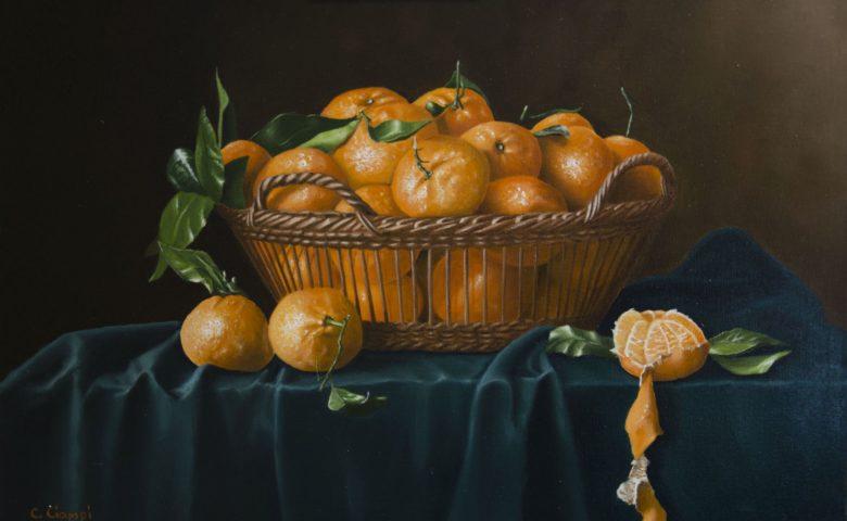 Cesto di clementine